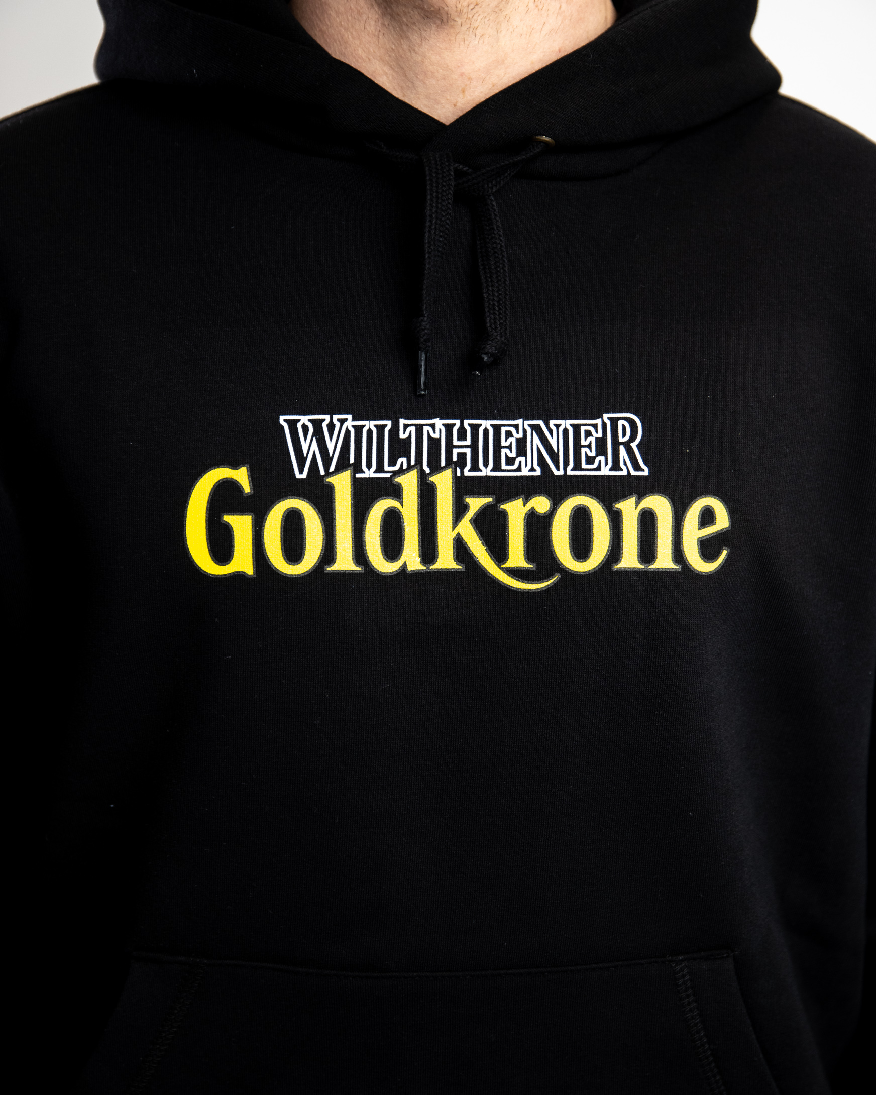 Wilthener Goldkrone Hoodie schwarz Gr. S