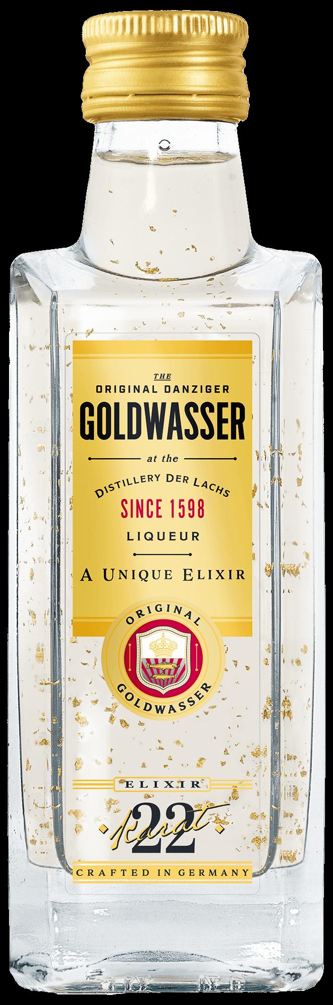 Original Danziger Goldwasser 0,05l