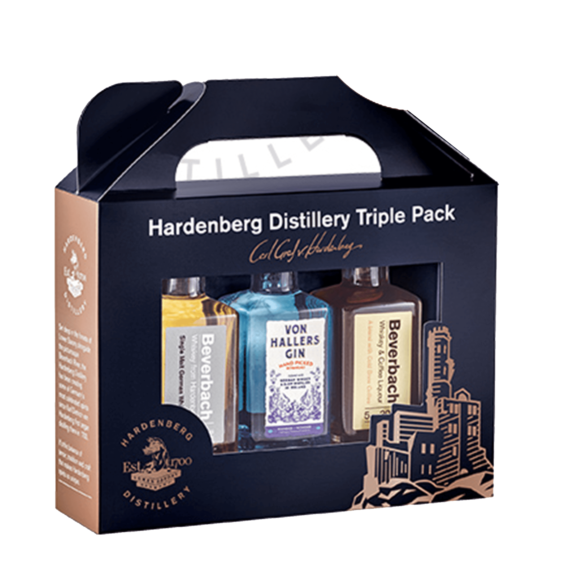 Hardenberg Distillery Triple Pack