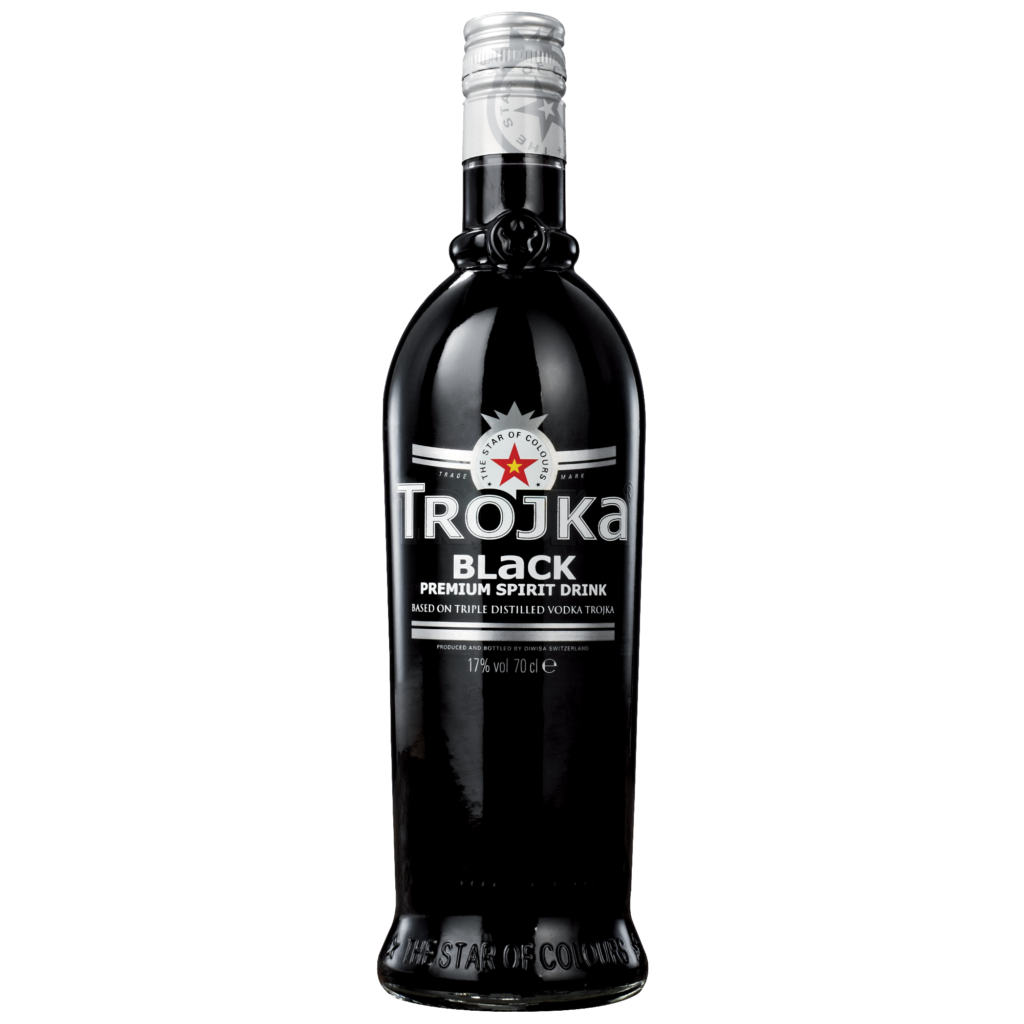 Trojka Vodka Black
