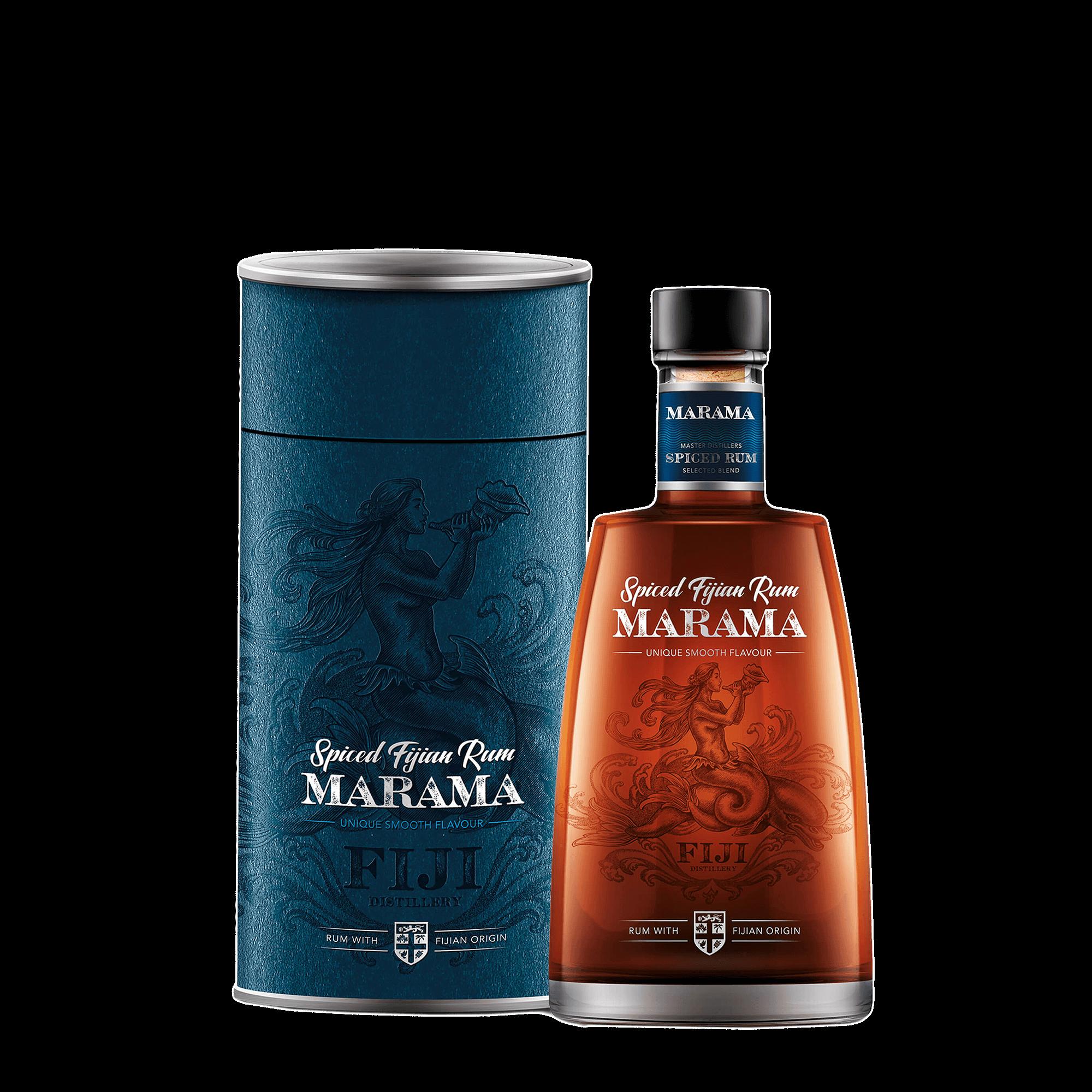 Marama Spiced Rum 0,7l in Geschenkverpackung