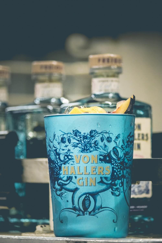 """Von Hallers Gin Becher """"Wander-Wonder"""", 1 St."""