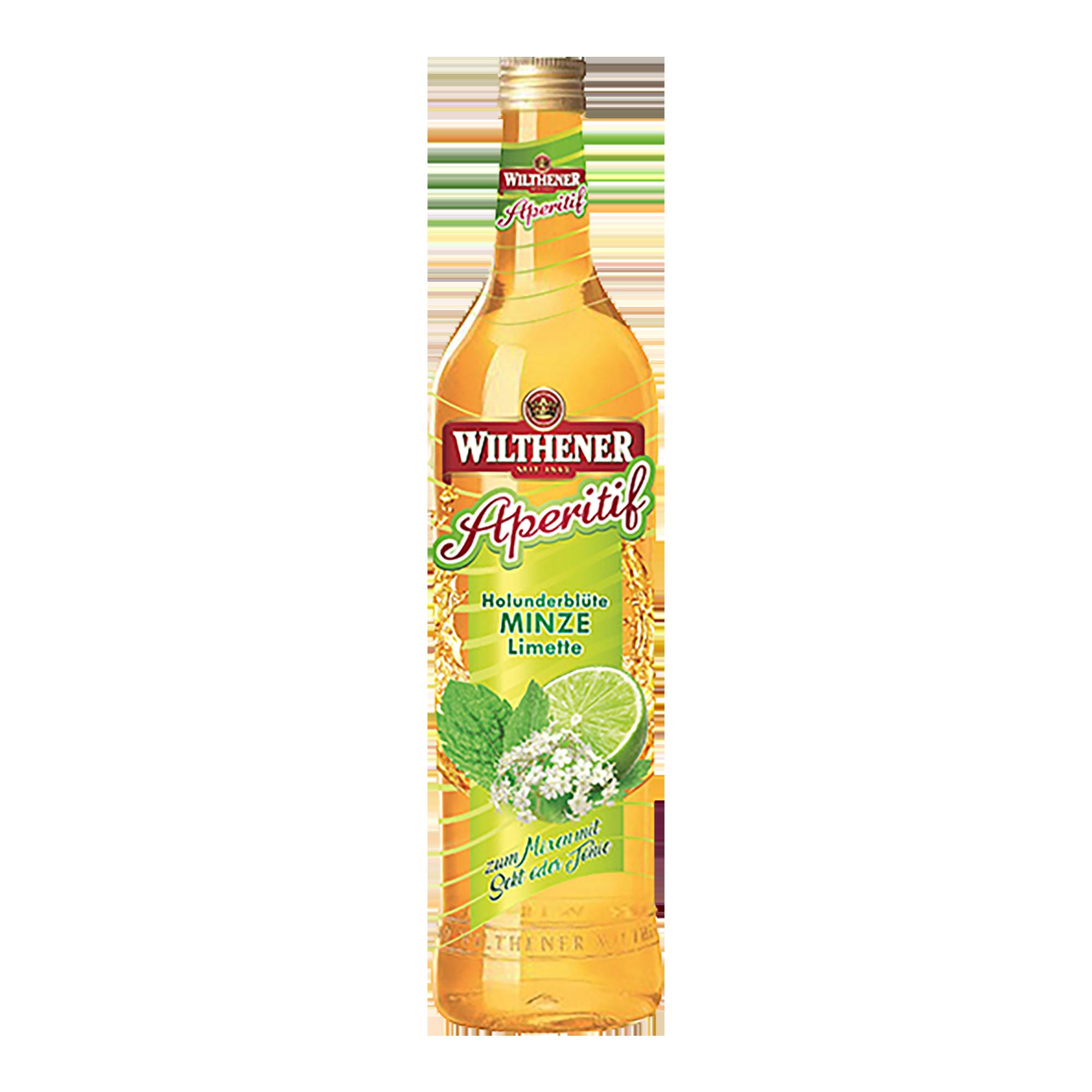 Wilthener Aperitif Holunderblüte-Minze-Limette 0,7l