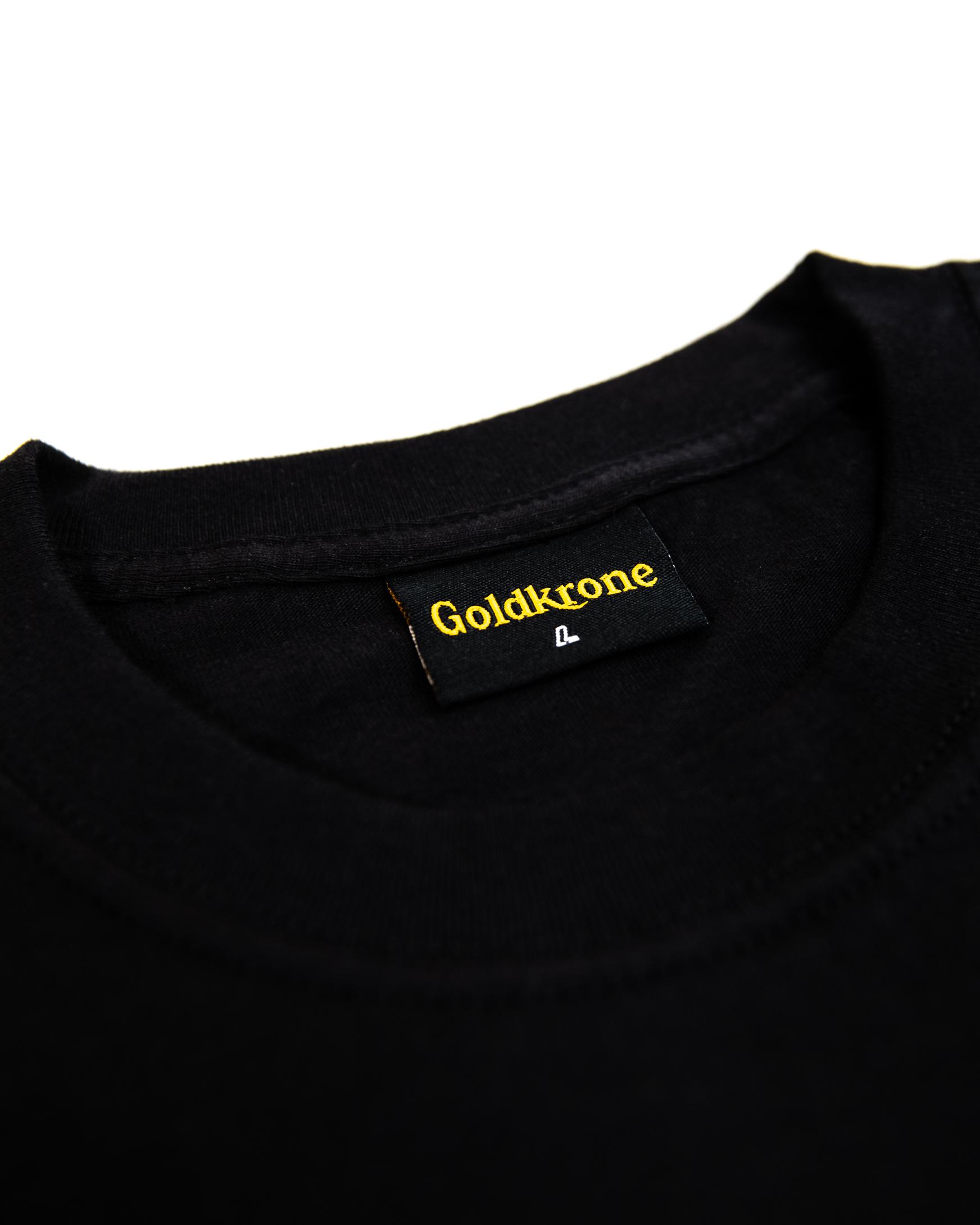 Wilthener Goldkrone T-Shirt schwarz Gr. S