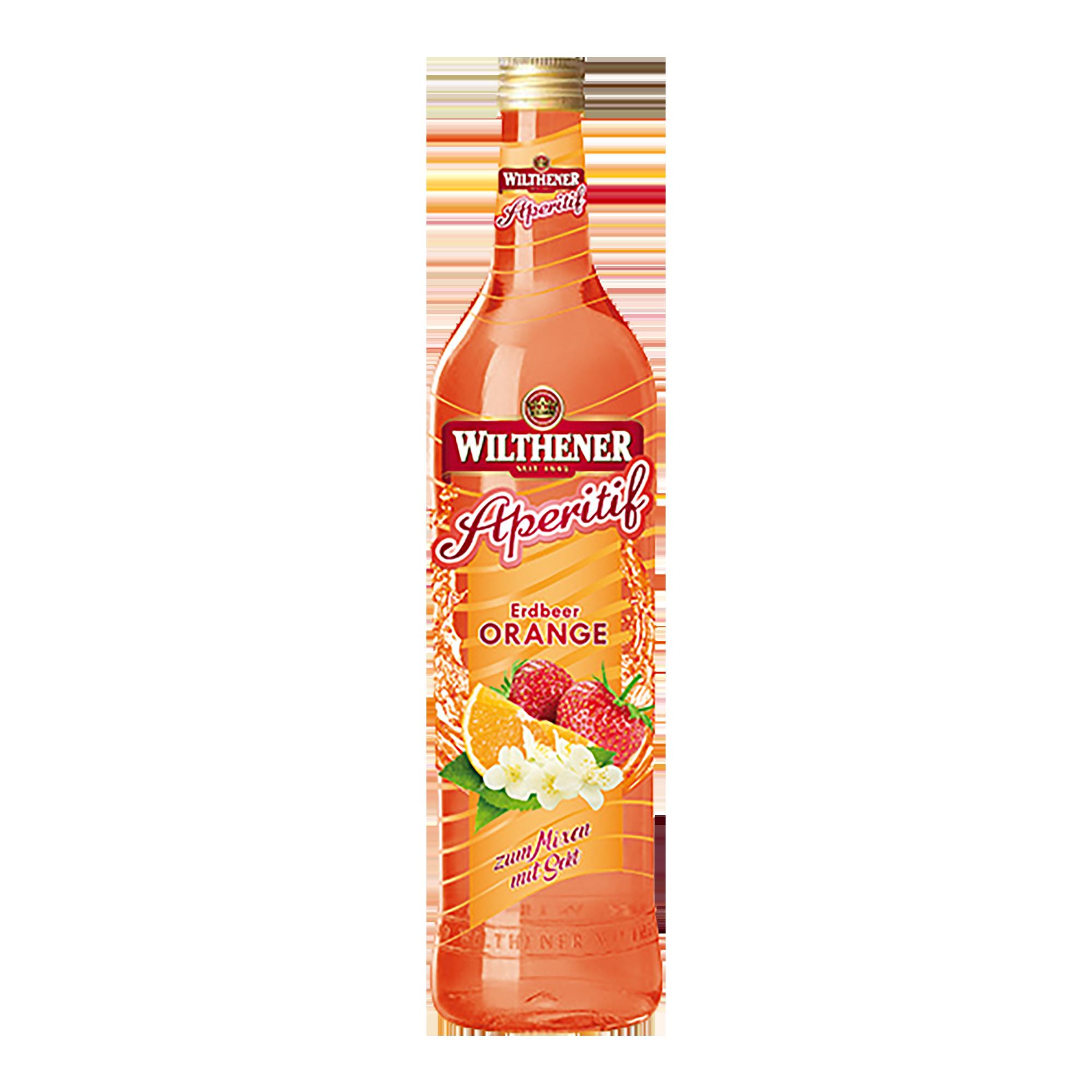 Wilthener Aperitif Erdbeer-Orange 0,7l