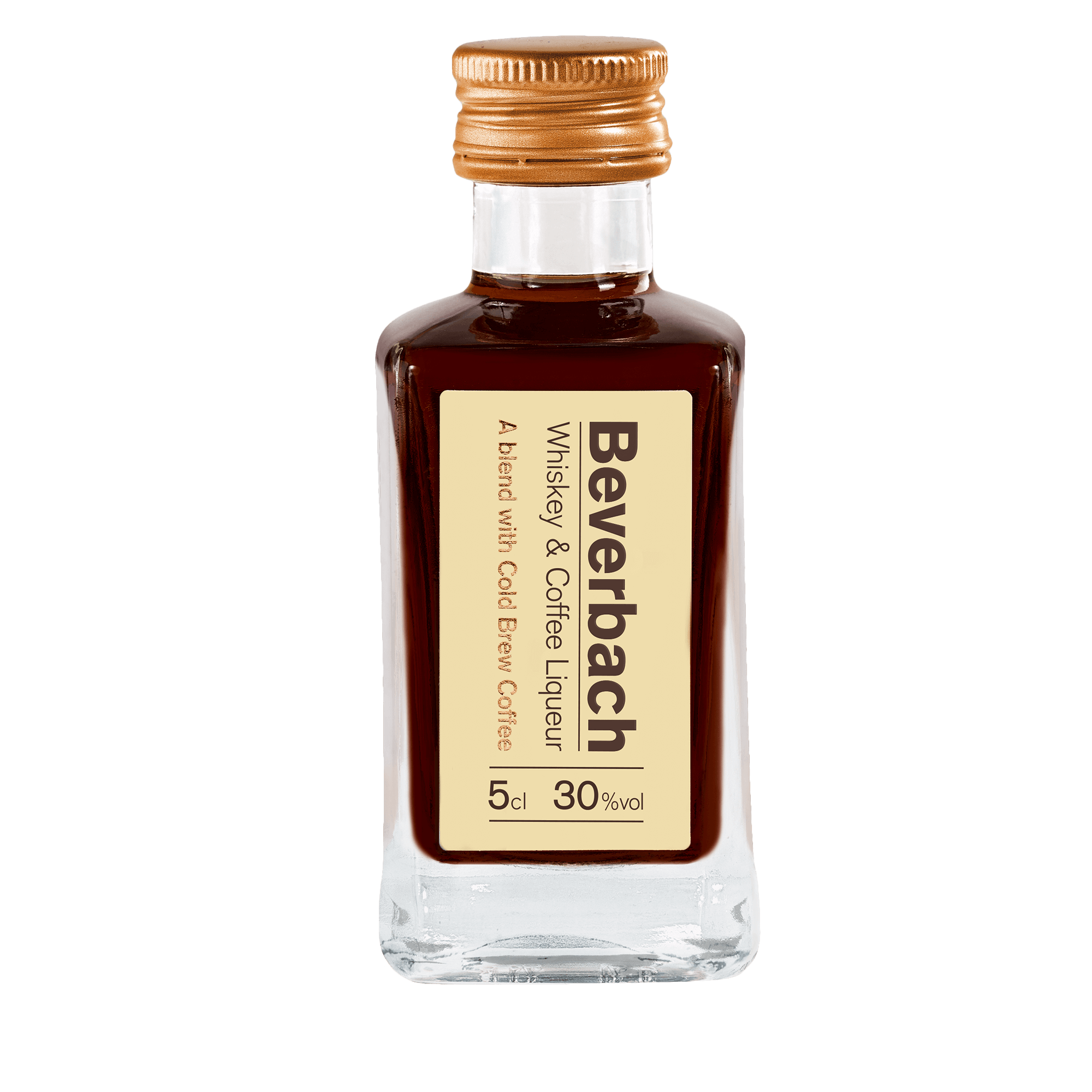Beverbach Whiskey & Coffee Liqueur Miniaturflasche