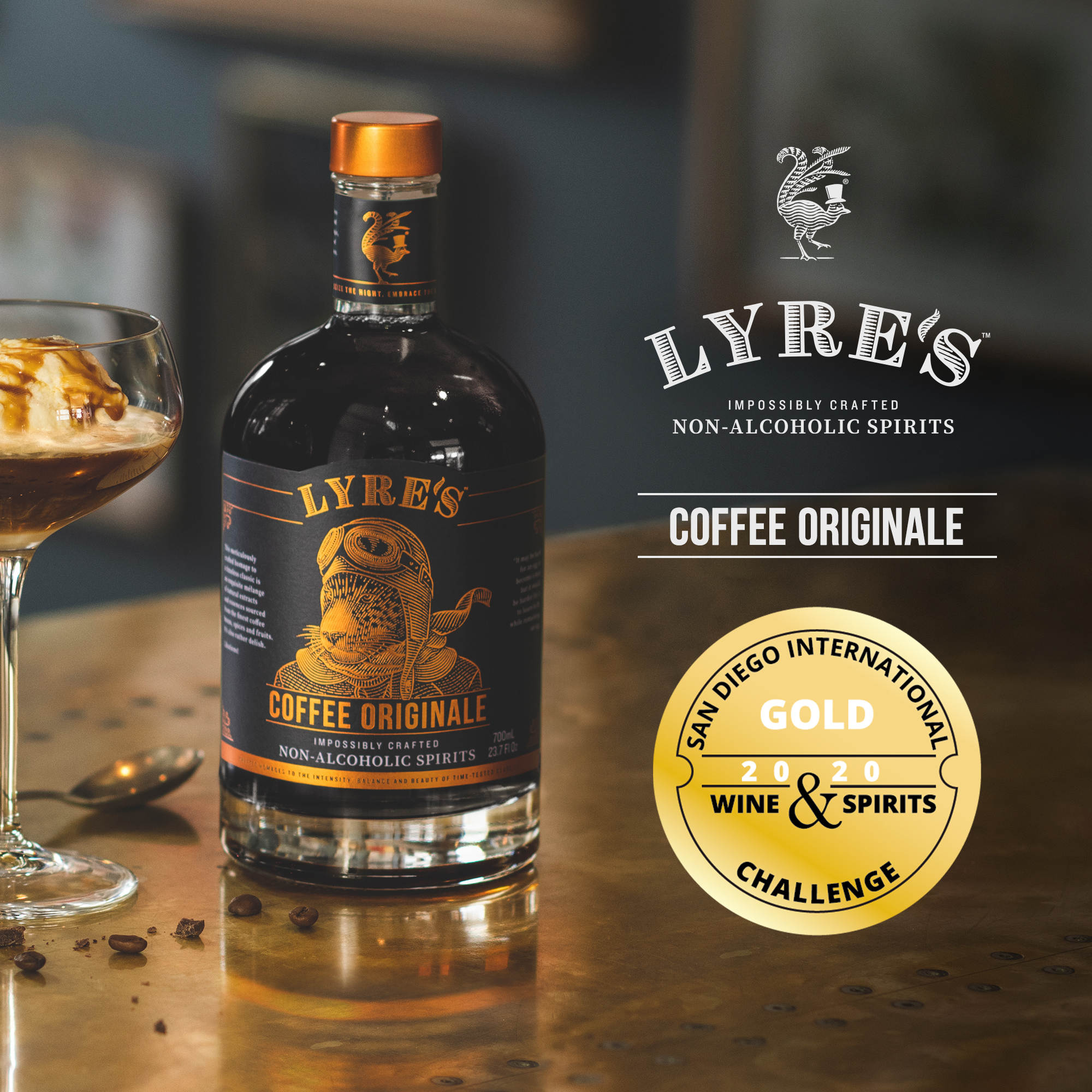 Lyre's Coffee Original 0% vol. 0,7l