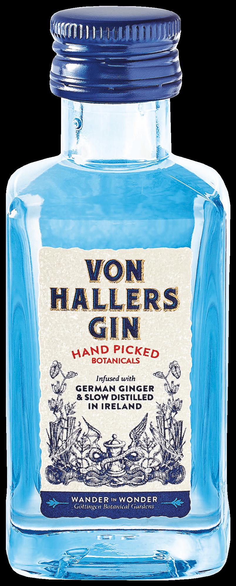 VON HALLERS GIN 0,05l Miniaturflasche