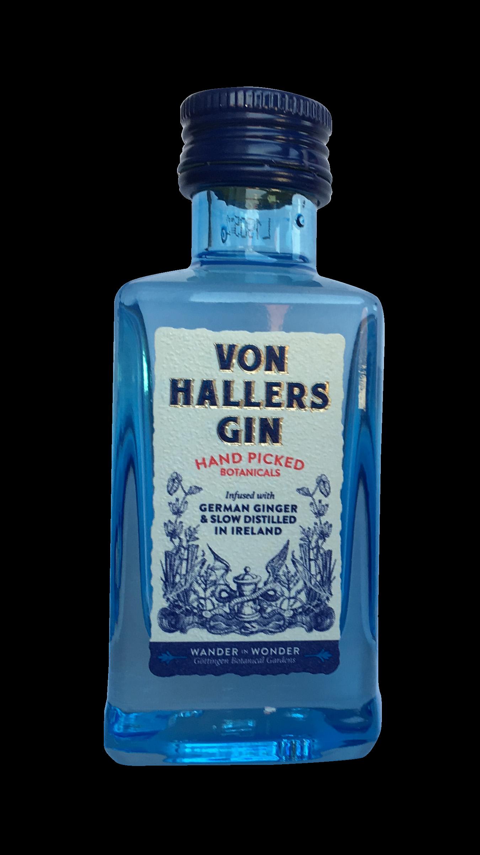 VON HALLERS GIN Miniaturflasche