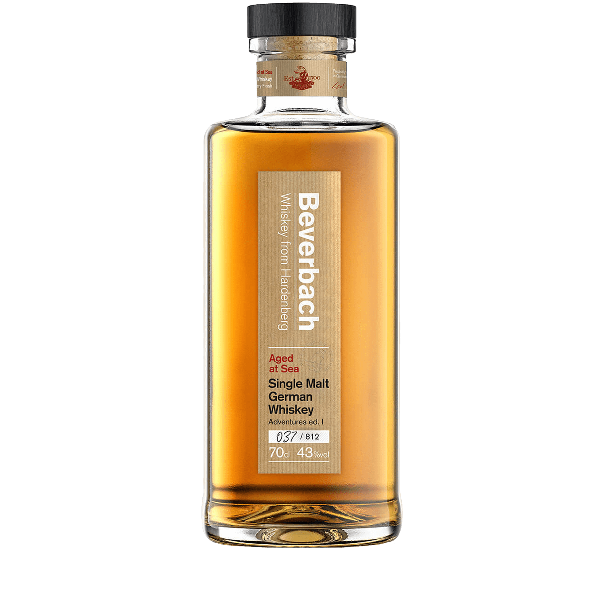 Beverbach Single Malt German Whiskey 0,7l Adventures Edition I