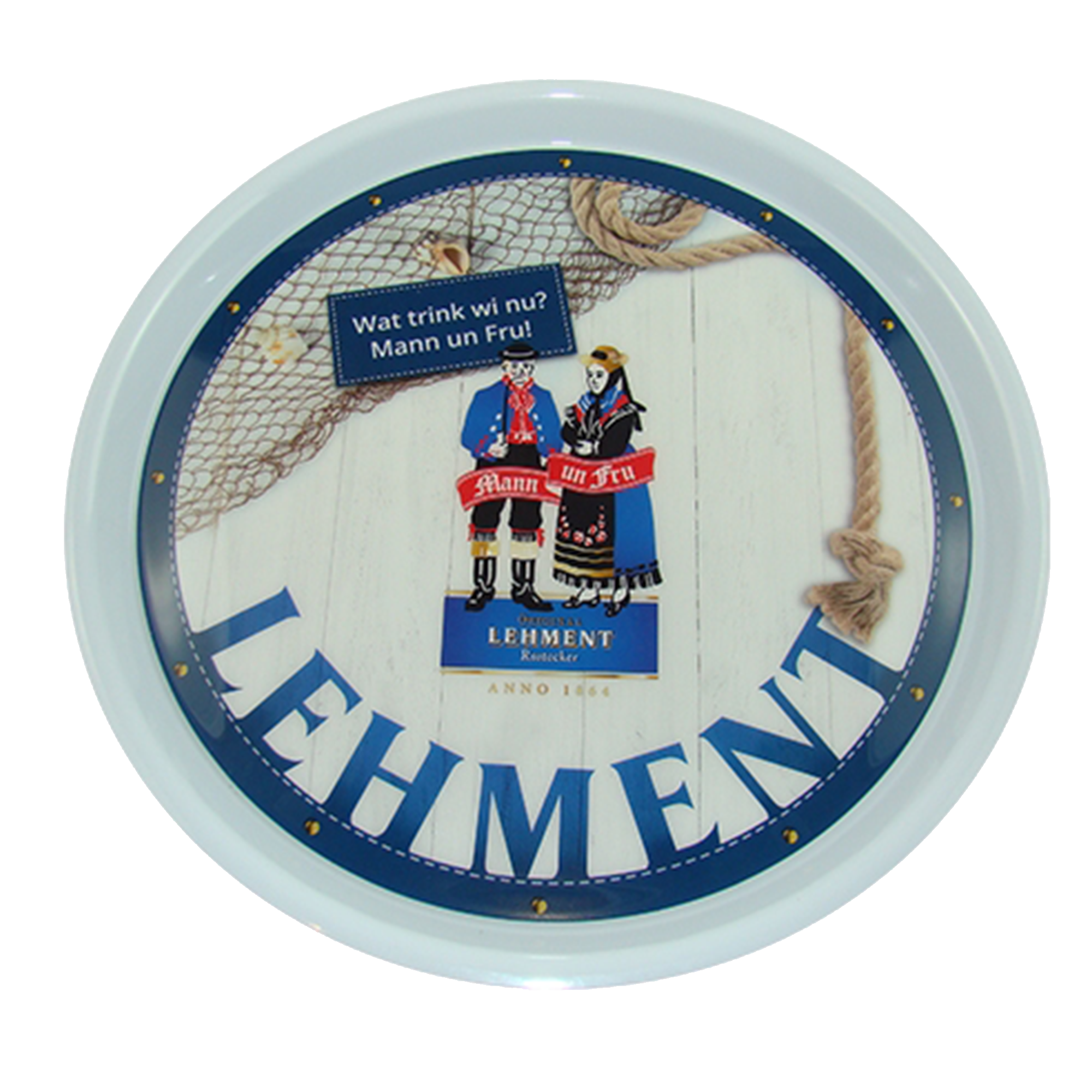 Original Lehment Rostocker Serviertablett