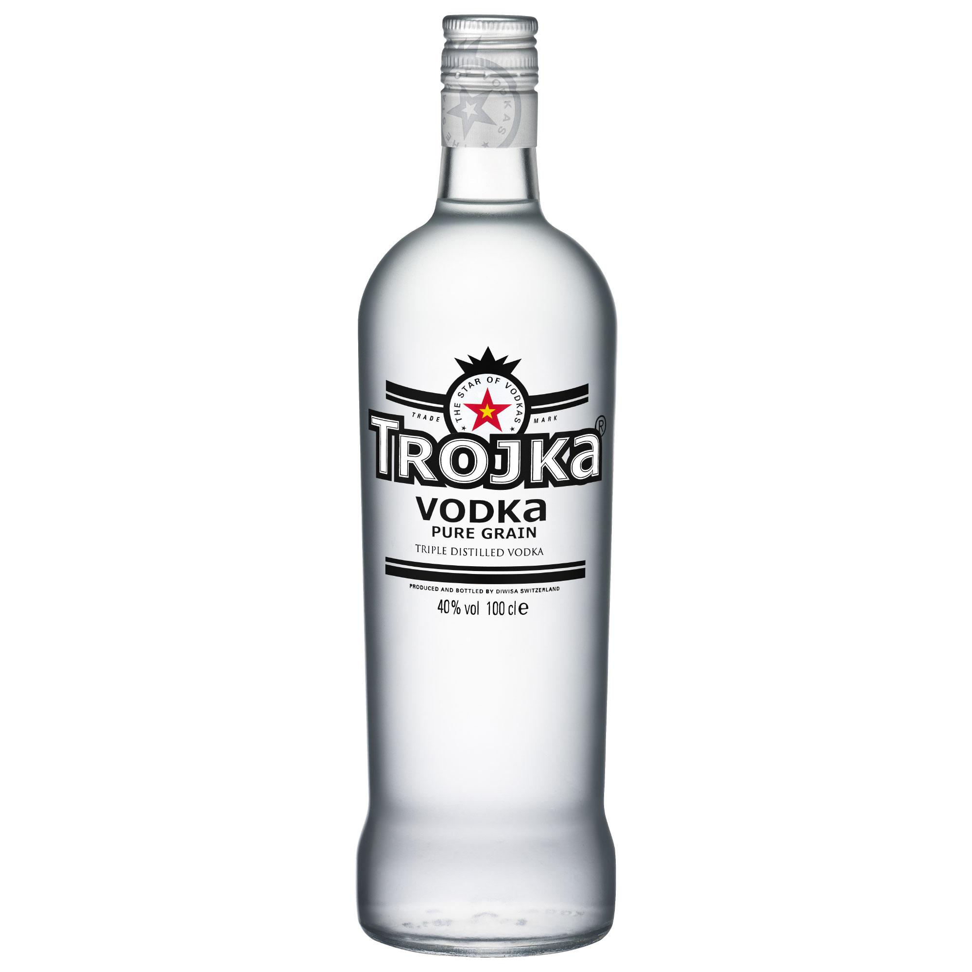Trojka Vodka Pure Grain